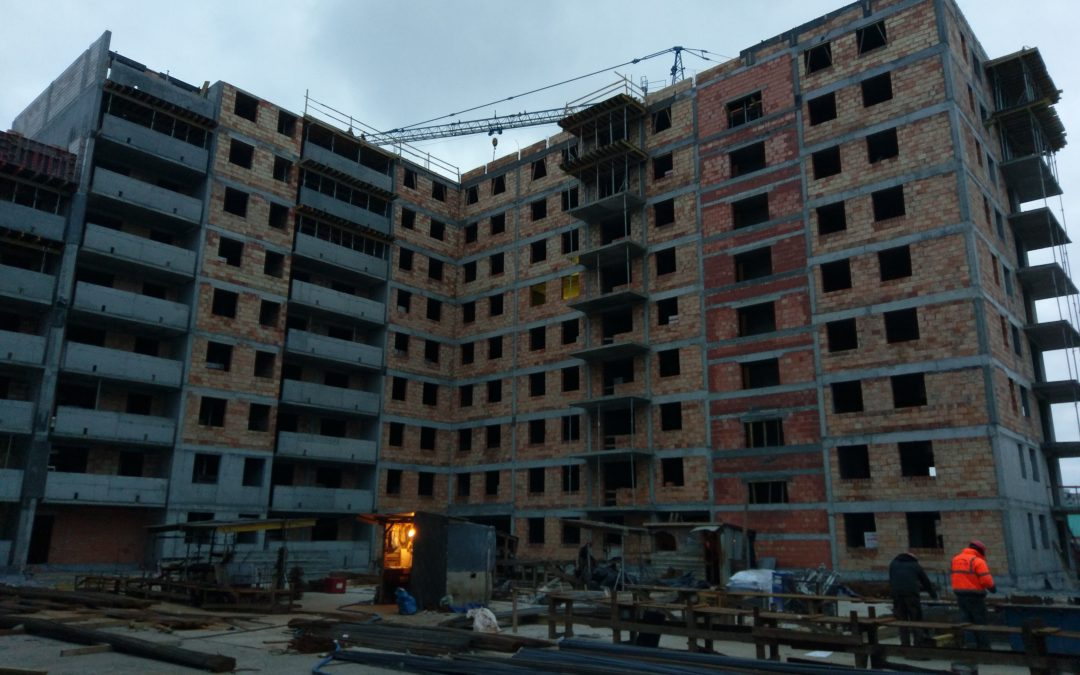 Realizacja robót murowo-żelbetowych w Białymstoku przy ul. Łąkowej 7