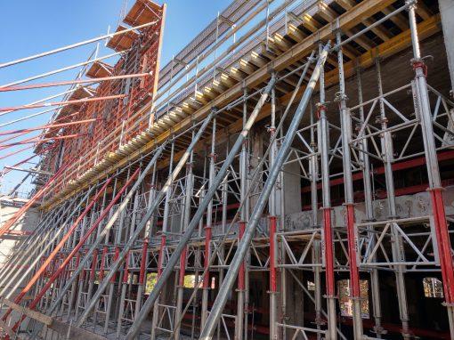 Prace budowlano-montażowe budynku Muzeum Sybiru w Białymstoku