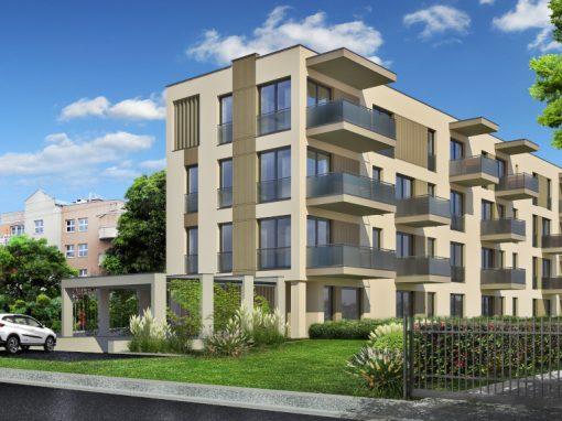 Realizacja budynku wielorodzinnego w Warszawie ul. Szlifierska